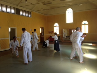Couples Aikido at Bayside