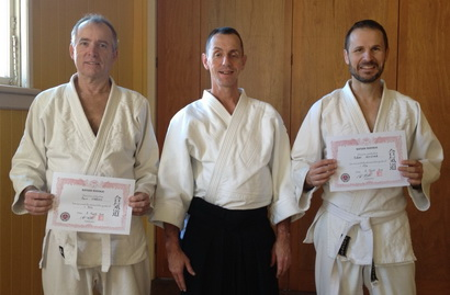 Rob and Col Aikido 1 Kyu