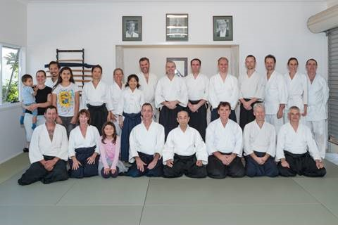 Dojo Opening and Seminar with Shimamoto Shihan 2015 - 3